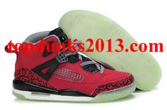 f11c04c86f579e Glow In The Dark Nike Jordan Sole Red Black Guaranteed