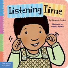 Listening Time - Board Book $8