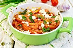 Learn how to make and prepare the recipe for Garides Tourkolimano, also known as Greek style shrimp with tomatoes and feta cheese. Seafood Recipes, Vegetarian Recipes, Dinner Recipes, Yummy Recipes, Greek Rice Pilaf, Greek Shrimp, Greek Dinners, Boston Food, Greek Olives
