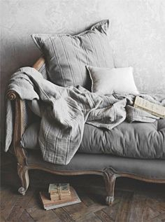 French grey day bed