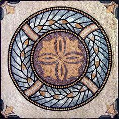 Tara Natural Stone Roman Mosaic