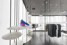 Rome/Shanghai based design studio 3Gatti created an abstract forest-like room…