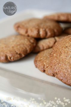 delicious almond gingerbread cookies - no flour