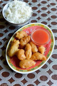 Sweet and Sour Chicken from CopyKat.com