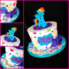 Pony cake | Flickr - Photo Sharing! - Hey that's cool and would go so well with theme : )