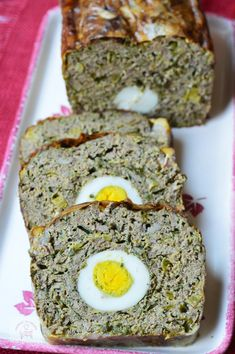Romanian Food, Meatloaf, Banana Bread, Food And Drink, Cooking Recipes, Easter, Cookies, Desserts, Honey