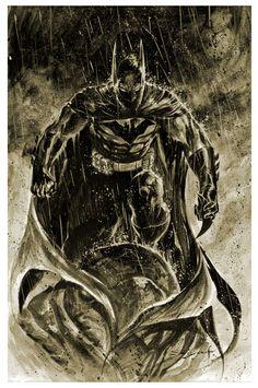 Batman Inkwash by Ardian Syaf