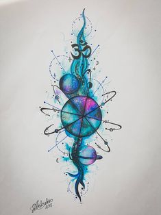 Galaxy space tattoo drawing 2018 by DeelyT on DeviantArt Galaxy . Galaxy space tattoo drawing 2018 by DeelyT on DeviantArt Galaxy space tattoo drawing 2018 by DeelyT on D. Kunst Tattoos, Tattoo Drawings, Body Art Tattoos, Small Tattoos, Sleeve Tattoos, Circle Tattoos, Owl Tattoos, Tattoo Ink, Fish Tattoos