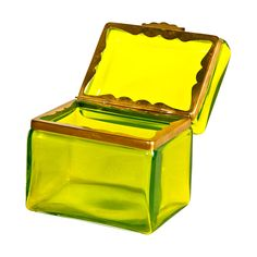 Green Murano Glass Box |
