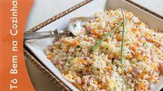 ARROZ CHINÊS (CHOP SUEY) - Receita de arroz chop suey (Episódio #181)