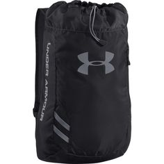 The Under Armour Trance SackPack has a reflective logo and a draw string cord opening with breathable shoulder straps. Order now at WrestlingGear. Under Armour Brand, Under Armour Shoes, Soccer Cleats, Soccer Ball, Under Armour Outlet, Soccer Shop, Soccer Equipment, Trance, Shoe Shop