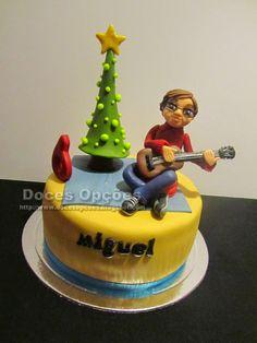 Doces Opções: Bolo de aniversário do Miguel