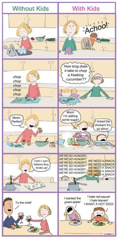 cooking with kids...