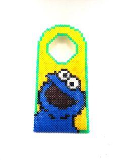 cookie monster door hanger