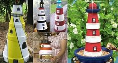 Clay Pot Lighthouse Directions A Super Easy DIY | The WHOot