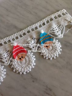 "OFICINA DO BARRADO: Croche - Barrado ""Noel Color"" ..."