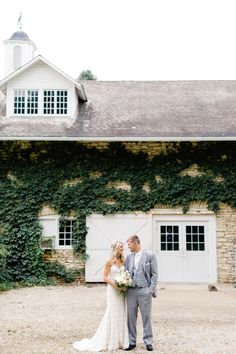 Congratulations to Josh and Erica on their recent wedding! Love the rustic barn mixed with classic details <3 Kate Becker Photography