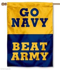 Go Navy Beat Army Flag