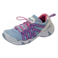 RocSoc Womens Bungee Lace Water Shoes - Lt. Blue/Rasp. - Mills Fleet Farm