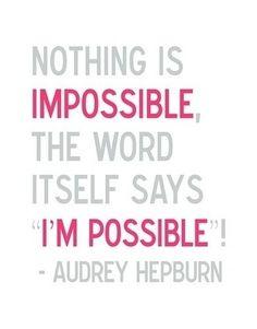 I'm Possible(y) amazing.