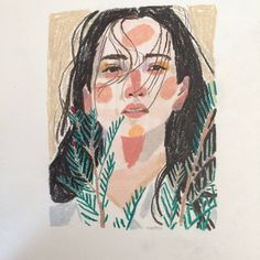 47 Closeup Doodles With Crayon Ideas - Art Oil Pastel Art, Oil Pastel Drawings, Crayon Drawings, Doodle Drawings, Art Sketchbook, Traditional Art, Art Inspo, Creative Art, Art Sketches