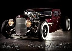 1931 FORD MODEL A COUPE HOT ROD RAT RODy