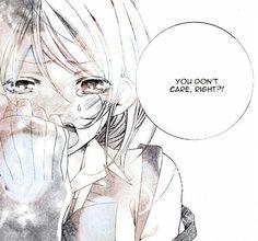 Image about girl in Sad Manga by ⠀ ⠀⠀☂ᴰᴱᴾᴿᴱˢˢᴱᴰ ᴼᵀᴬᴷᵁ☂ Anime Girl Crying, Sad Anime Girl, Manga Girl, Anime Art Girl, Manga Anime, Anime Girls, Dark Anime, Sad Angel, Angel Heart