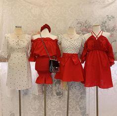 Korean Girl Fashion, Ulzzang Fashion, Kpop Fashion Outfits, Korean Outfits, Girly Outfits, Chic Outfits, Pretty Outfits, Beautiful Outfits, Fashion Line