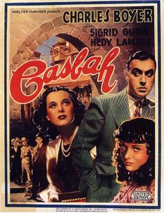 """CAST: Charles Boyer, Hedy Lamarr, Sigrid Gurie, Gene Lockhart, Joseph Calleia, Alan Hale; DIRECTED BY: John Cromwell; CINEMATOGRAPHY BY: James Wong Howe. PRODUCER: Walter Wanger. Features: - 11"""" x 17"""""""