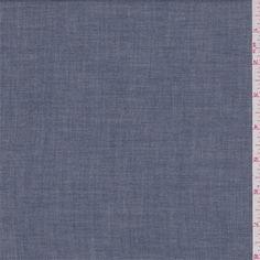 *3 YD PC--Navy Blue Chambray - 36382-C1 - | Discount By The Yard | Fashion Fabrics