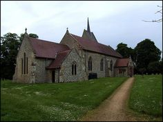 St. Leonard Church in the village of Mundford, England. We lived here for 5 years. Lovely village.