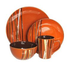 I pinned this 16 Piece Stix Dinnerware Set from the A Picnic in the Park event at Joss and Main!
