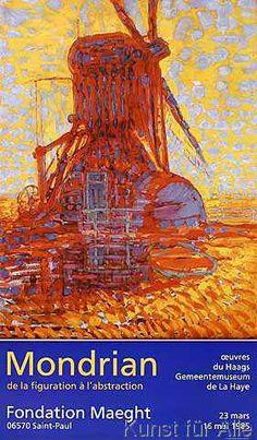 Piet Mondrian - Moulin au Soleil, 1908