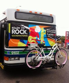 Pedego Electric Bikes can rock most city buses.