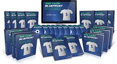 TEE CA$H BLUEPRINT - Based on the most powerful secrets, tips & strategies I've discovered on how to generate a long-lasting online income with Teespring, this easy-to-follow, step-by-step video course reveals how you can get started creating your own profitable Teespring  online business in as little as 24 hours.