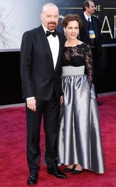 BRYAN CRANSTON, the Breaking Bad star hits the Oscars.