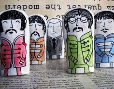 Beatles Puppets from Cool Mom Picks