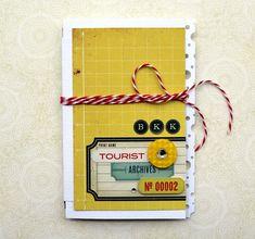The Urban Scrapbook inc.: MINI BOOK OR CARD!