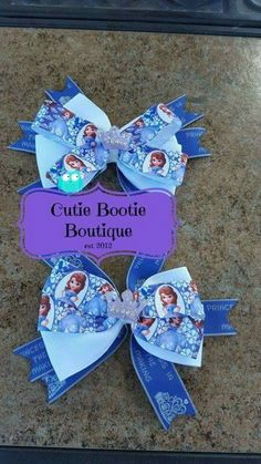 Sofia the first bows