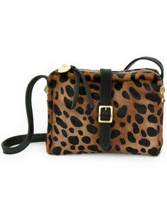 Clare Vivier Leopard Mini Sac