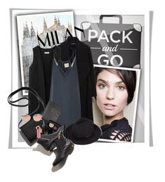 """Pack ang Go: Milan"" by milkandabsinth ❤ liked on Polyvore featuring Hallhuber, Non, Mason by Michelle Mason, Smythson, Marc Jacobs, Westward Leaning, women's clothing, women, female and woman"