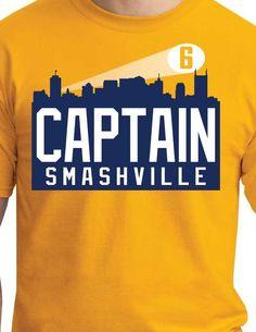 Captain Smashville $20.00 Nashville Predators
