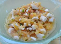 Loquat Coconut Pineapple Salsa---I'm DOING this!