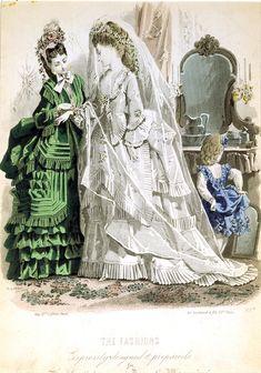 Fashion  Fashion Plates - 19th Century Post