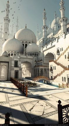 Middle Eastern Mosque by gurmukh bhasin | 3D | CGSociety