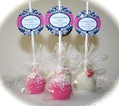 cakepop wedding favors - Google Search
