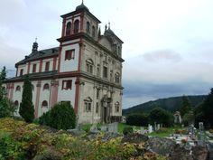Chyše (distr. Karlovy Vary, west Bohemia)- Church of annunciation of virgin Mary