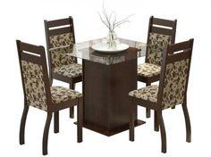 Conjunto de Mesa com 4 Cadeiras Sofia com as melhores condições você encontra no site do Magazine Luiza. Confira!