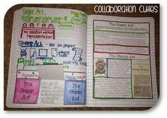Social Studies Interactive Notebooks- Causes of the American Revolution Nonfiction Articles- how to use nonfiction articles in interactive notebooks and take notes that will help students remember what the article is about.