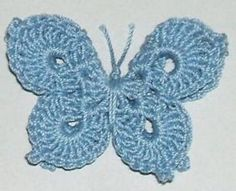 Crochet Butterfly Free Pattern More